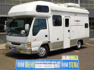いすゞ エルフトラック キャンピングカー ヨコハマモーターセールス レックス 発電機