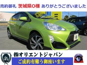 トヨタ アクア X-アーバン ナビ・ワンセグ・CD・ETC・LEDヘッドライト・純正アルミ装備・スマートキー