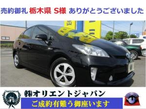 トヨタ プリウス S ナビ・ワンセグ・ETC・CD・サイドカーテンエアバッグ装備・HID・フルフラット・スマートキー