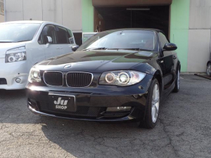 BMW 1シリーズ 120i カブリオレ 赤革シート プッシュスタート