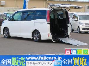 トヨタ ノア Xウェルキャブスロープ 車椅子一基 6名乗 セーフティセンス