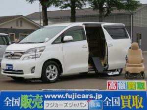 トヨタ ヴェルファイア 福祉車両ウェルキャブ X 脱着式シート 電動自走式 7名乗車