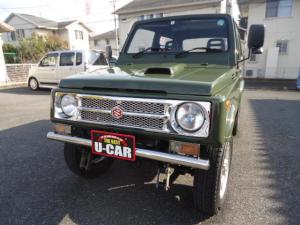 スズキ ジムニー  リフトアップ ターボ 4WD タイミングB交換済 社外アルミ 全塗装済 オイル漏れ修理済