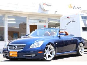 トヨタ ソアラ 430SCV SC仕様 CD ETC キーレス 茶革 シートヒーター WORK19アルミ 車高調 電動オープン