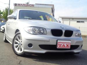 BMW 1シリーズ 116i ワンオーナー 禁煙車 社外DVDナビ キーレス スペアキー2個 CD 保証書 取扱説明書 純正16インチアルミ