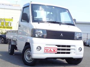 三菱 ミニキャブトラック Vタイプ ワンオーナー AT 4WD パワステ エアコン 保証書 取扱説明書
