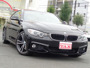 BMW 4シリーズ 420iグランクーペ Mスポーツ ワンオーナー 禁煙車 純正HDDナビ バックカメラ インテリジェントセーフティー 車線逸脱警告 レーダークルーズ パドルシフト パークセンサー アイドリングS ETC キセノンライト 前後ドラレコ
