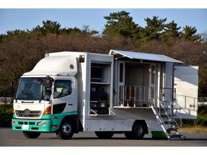 日野 レンジャー 起震車 地震体験車 発電機付き オートマAT