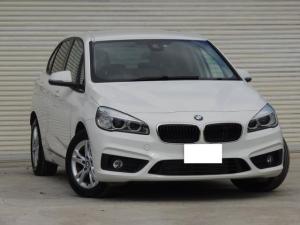 BMW 2シリーズ 218dアクティブツアラー 純正HDDナビ 禁煙車 新品バッテリーへ交換後お引渡し