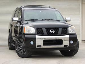 米国日産 アルマダ SE 4WD 1ナンバー登録 新車並行輸入車 実走行距離車