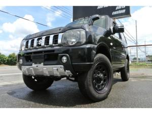 スズキ ジムニー クロスアドベンチャー 9型/車検令和5年7月まで/社外フルセグナビ/社外足回り/社外ブラックアルミホイール/シートヒーター/ETC/MT/4WD