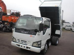 いすゞ エルフトラック 3t 低床ダンプ 積載3000kg 排ガス適合車 NO・22
