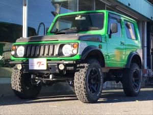 スズキ ジムニー フィッシングマスター 5MT 4WD 2インチリフトアップ ターボ 120馬力 社外タービン 社外エキマニ リンクECU