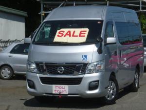 日産 NV350キャラバンバン 家で買えるチェアキャブ定員8名+車椅子2名福祉車ナビETC