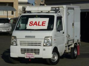 スズキ キャリイトラック KCエアコン・パワステ Topre -30度 冷凍冷蔵車 左サイドドア 切替式4WD オートマ車 東プレ