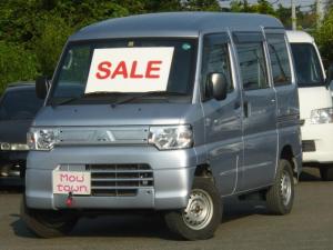 三菱 ミニキャブ・ミーブ CD 10.5kwh 4シーター 電気自動車 4人乗り リアプライバシーガラス