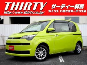 トヨタ スペイド G 4WD 禁煙車 純正SDナビ 地デジTV nanoe空気清浄 シートヒーター Bluetoothオーディオ ETC HIDヘッドライト オートライト