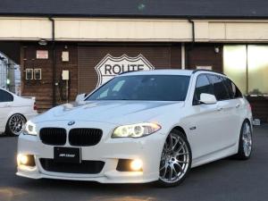 BMW 5シリーズ 528直6Mスポーツ 3Dデザインマフラー&車高調レイズ20