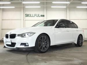 BMW 3シリーズ 320dMスポーツカーボンエアロ19AWローサスレムスマフラ