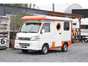 ダイハツ ハイゼットトラック  キャンピングカー バンショップミカミ テントむし ポップアップ サブバッテリー 走行充電 シンク 低走行 サイドオーニング