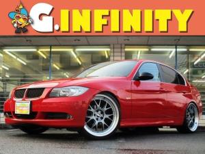 BMW 3シリーズ 323i 修復歴無/BBS社製21AW車高調/REMUSマフラー/外HDDナビ/バックカメラ/Mサーバー/電動シート/HID/フォグ/ETC/キーレス/革ステア/MTモード/PVガラス/Tチェーン