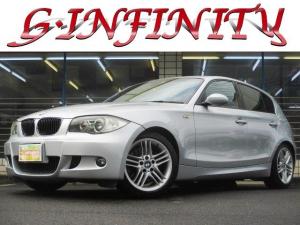 BMW 1シリーズ 130i Mスポーツ 保証書完備/修復歴無/記録簿/後期型/M専用エアロ&ローダウン/純正17AW/純正HDDナビ/本革電動シート&ヒーター/HID/フォグ/ETC/革ステ/パドルシフト/MTモード/PVガラス/Tチェーン