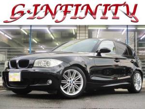 BMW 1シリーズ 118i Mスポーツパッケージ 保証書&取説完備/修復歴無/検・R4・3/1オナ/記録簿/M専用エアロ・17AW・ローダウン/Hレザーシート/純オーディオ/HID/フォグ/ETC/キーレス/革ステ/MTモード/PVガラス/Tチェーン