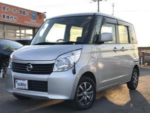 日産 ルークス E 1年保証付 4WD ナビ 地デジTV ETC シートヒータ プッシュスタート 社外アルミ