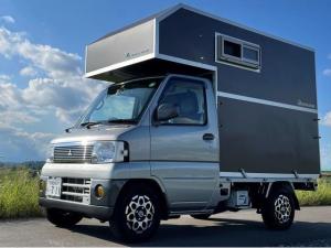 三菱 ミニキャブトラック VX-SE エクシードP キャンピングシェルメーカー:トラベルハウス(2020年製)4WD 5MT エアコン パワステ