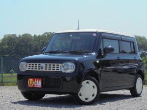 スズキ アルトラパン G 黒ベージュツートーン 外装磨き済み 車検整備付 車内清掃済  距離無制限一年保証付