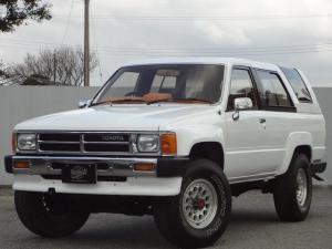 トヨタ ハイラックスサーフ SSRブリハイ4WD社外アルミ