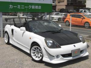トヨタ MR-S 2ZZエンジン載替公認済 オープンカー GTウイング エアロ