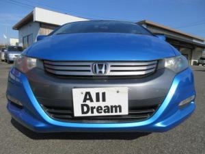 ホンダ インサイト G 15インチ ディスチャージヘッドライト WエアB ABS キーレス CDコンポ プライバシーガラス ハイブリットカー CVT タイミングチェーン 走行36000キロ 取扱説明書