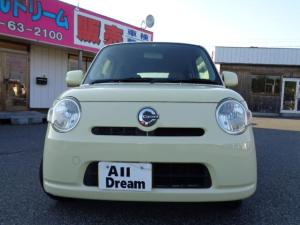 ダイハツ ミラココア  5ドアHB WエアB ABS スマートキー CDコンポ ベンチシート オートエアコン 分割可リアシート プライバシーガラス 走行105000キロ タイミングチェーン ルームクリーニング コーテイング済
