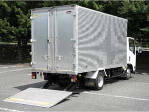 いすゞ エルフトラック 2tアルミバン・ロング・パワーゲート