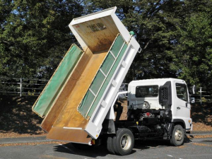 日野 ヒノレンジャー  3600kg Lゲートダンプ 自動開閉シート 電動格納ミラー