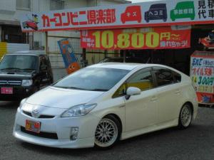 トヨタ プリウス S 車高調 17インチアルミ フルエアロ