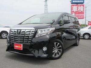 トヨタ アルファード 3.5GF 純正ナビ 後席モニター 本革シート Wサンルーフ