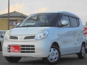 日産 モコ E ショコラティエ ユーザー買取車 スマートキー オートエアコン 電格ドアミラー ヘッドライトレベライザー Pガラス ドアバイザー フロアマット
