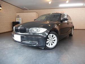 BMW 1シリーズ 116iHID 社外ポータブルナビ 革調シートカバー 禁煙車