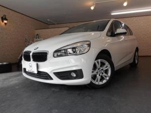 BMW 2シリーズ 218dアクティブツアラー 純正HDDナビ 衝突軽減ブレーキ インテリジェントセーフティ LEDヘッドライト ミラー一体型ETC 純正16インチアルミホイール アイドリングストップ キーレス 歩行者警告 車線逸脱警告