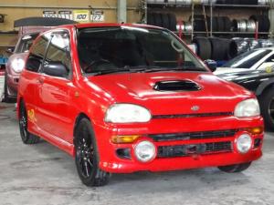 スバル ヴィヴィオ RX-R スーパーチャージャー 4WD マフラー 車高調
