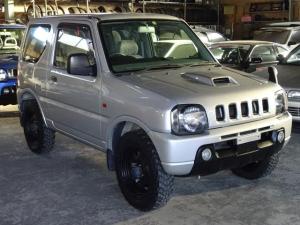 スズキ ジムニー XL 4WD ターボ 修復無 社外ナビ ETC ヨコハマジオランダー スタッドレス4本つき