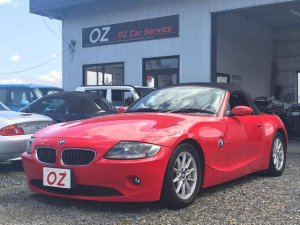 BMW Z4 2.2i ETC ナビ AW オープンカー レッド