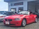 BMW/BMW Z4 2.2i ETC ナビ AW オープンカー レッド