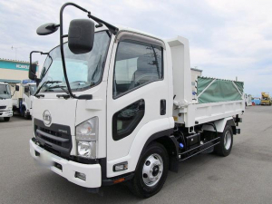 UDトラックス コンドル  3.6t 新明和製 土砂ダンプ 自動シート付