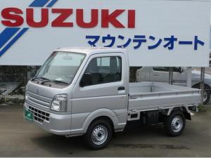 スズキ キャリイトラック KCエアコン・パワステ・4WD 届け出済み未使用車