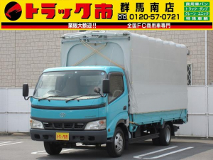 トヨタ トヨエース 2t積・メイダイ幌ウイング・ワイドロング・AT