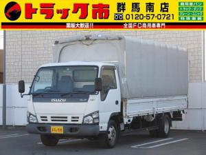 いすゞ エルフトラック 3t積・エルフメイダイ幌ウイング・ワイド超ロング