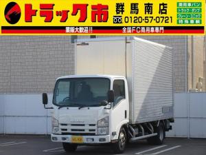 いすゞ エルフトラック 3t積・アルミバン・跳ね上げパワーゲート1000kg
